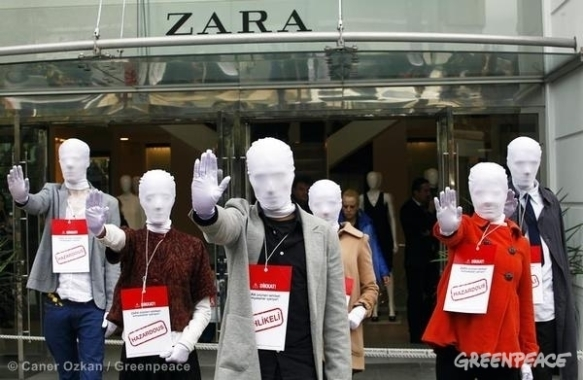 Maniquíes Zara