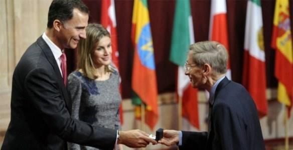 Bill Drayton recibe el Premio Príncipe de Asturias 2011