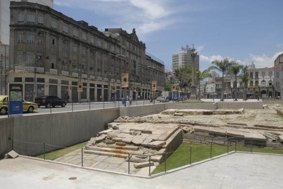 Cais do Valongo, en Río de Janeiro