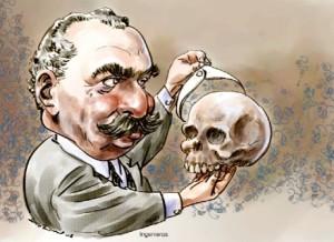 Caricatura de José Ingenieros