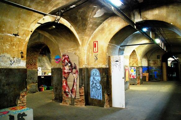 CSA La Tabacalera. Lavapiés, Madrid