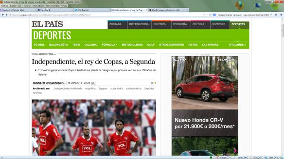 Artículo El País