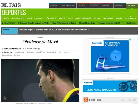 Olvídense de Messi