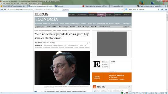 Entrevista Draghi